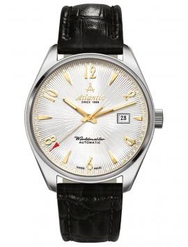 51752.41.25G ATLANTIC Worldmaster męski zegarek na pasku skórzanym
