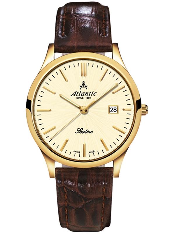 22341.45.31 ATLANTIC Sealine damski złoty zegarek na pasku