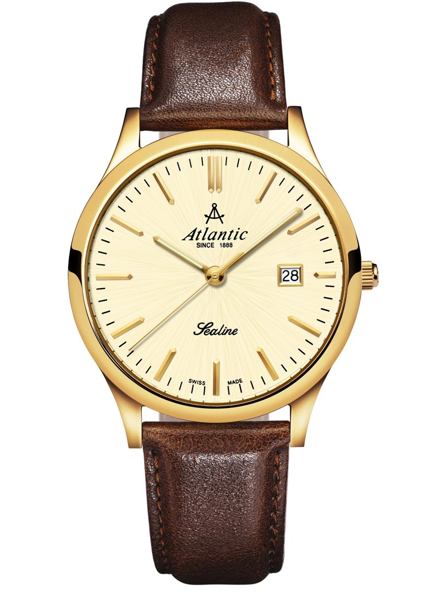 62341.45.31 ATLANTIC Sealine męski zegarek na pasku skórzanym