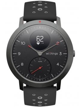IZWWISBK Withings Activite Steel HR Sport Black męski zegarek smartwatch