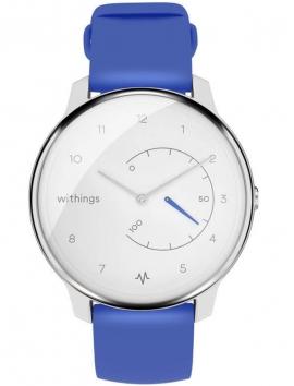 IZWWIMECGBU Withings Move ECG Blue-White zegarek smartwatch z aplikacją