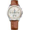1781701 TOMMY HILFIGER damski zegarek na pasku skórzanym