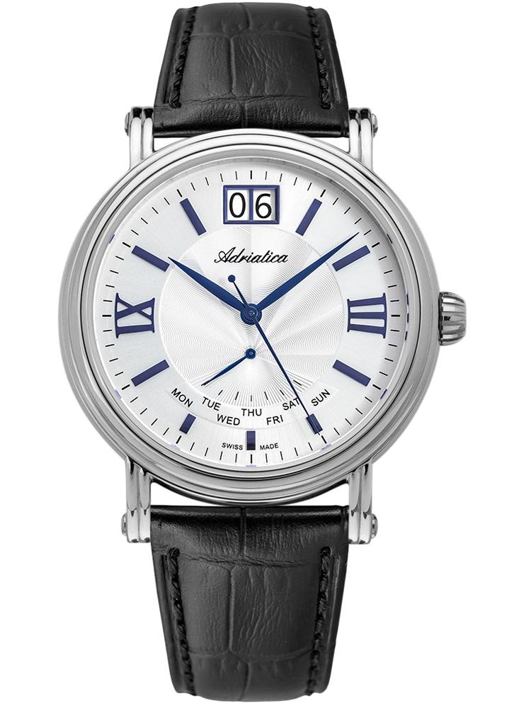 A8237.52B3Q ADRIATICA Szwajcarski zegarek z datownikiem