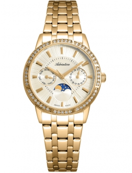 A3601.1111QFZ ADRIATICA złoty damski zegarek