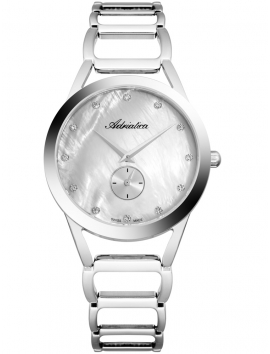 A3725.514FQ Adriatica srebrny damski zegarek