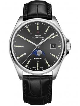 GL0116 Glycine męski zegarek na pasku skórzanym
