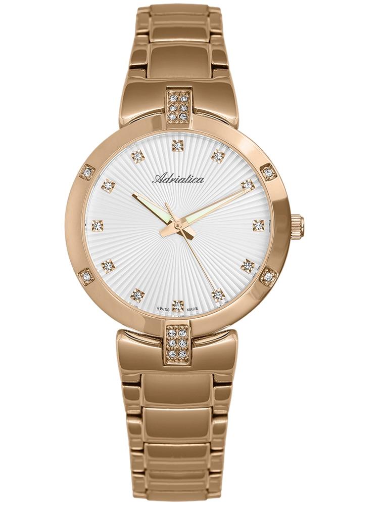 A3696.9143QZ Adriatica złoty zegarek damski
