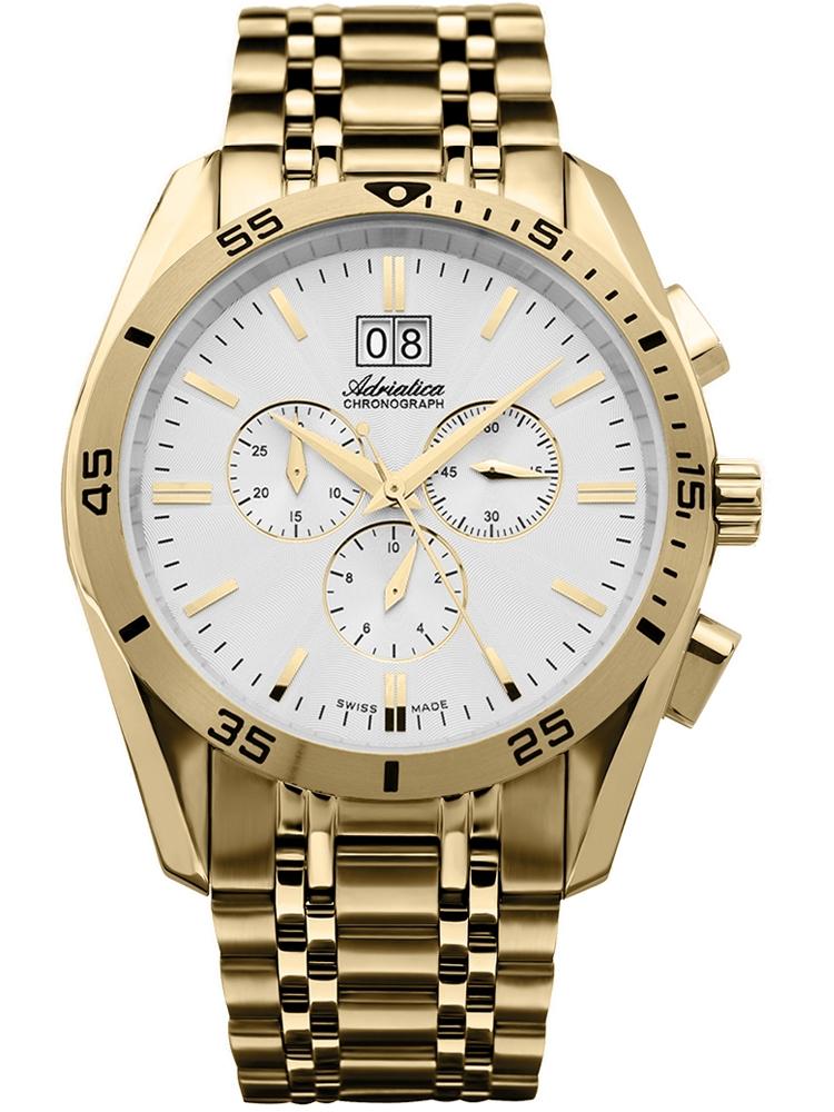 A8202.1113CH Adriatica złoty zegarek męski