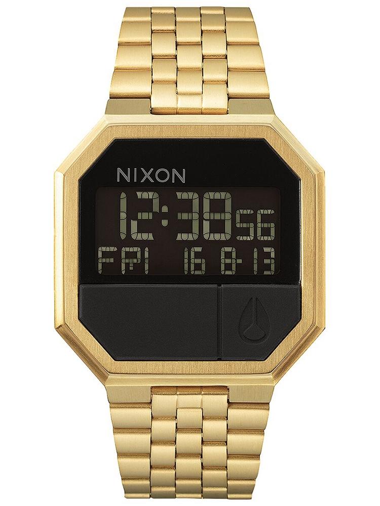 A158_1502 zegarek męski Nixon Re-run All Gold