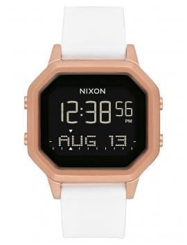 A1211_1045 zegarek Nixon Siren SS Rose Gold White