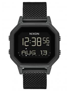A1272_2001 zegarek damski Nixon Siren Milanese All Black