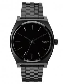 zegarek damski czarny Nixon Time Teller All Black