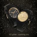 001356 ICE-WATCH Glitter czarny zegarek damski