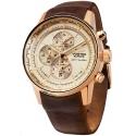 YM26-565B294 VOSTOK EUROPE Gaz-14 Limousine męski zegarek na pasku skórzanym