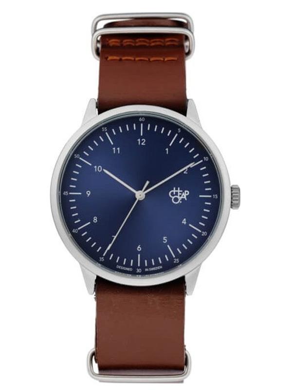 zegarek męski CHEAPO Harold Navy Metal