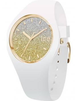 013432 ICE-WATCH Lo damski zegarek na białym pasku silikonowym
