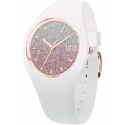 013431 ICE-WATCH Lo damski zegarek na białym pasku silikonowym