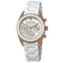 AR5943 biały zegarek damski