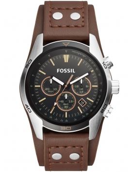 CH2891 FOSSIL męski zegarek na pasku skórzanym