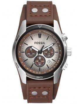CH2565 Fossil męski zegarek na pasku skórzanym