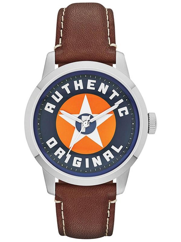 FS4898 Fossil męski zegarek na pasku skórzanym