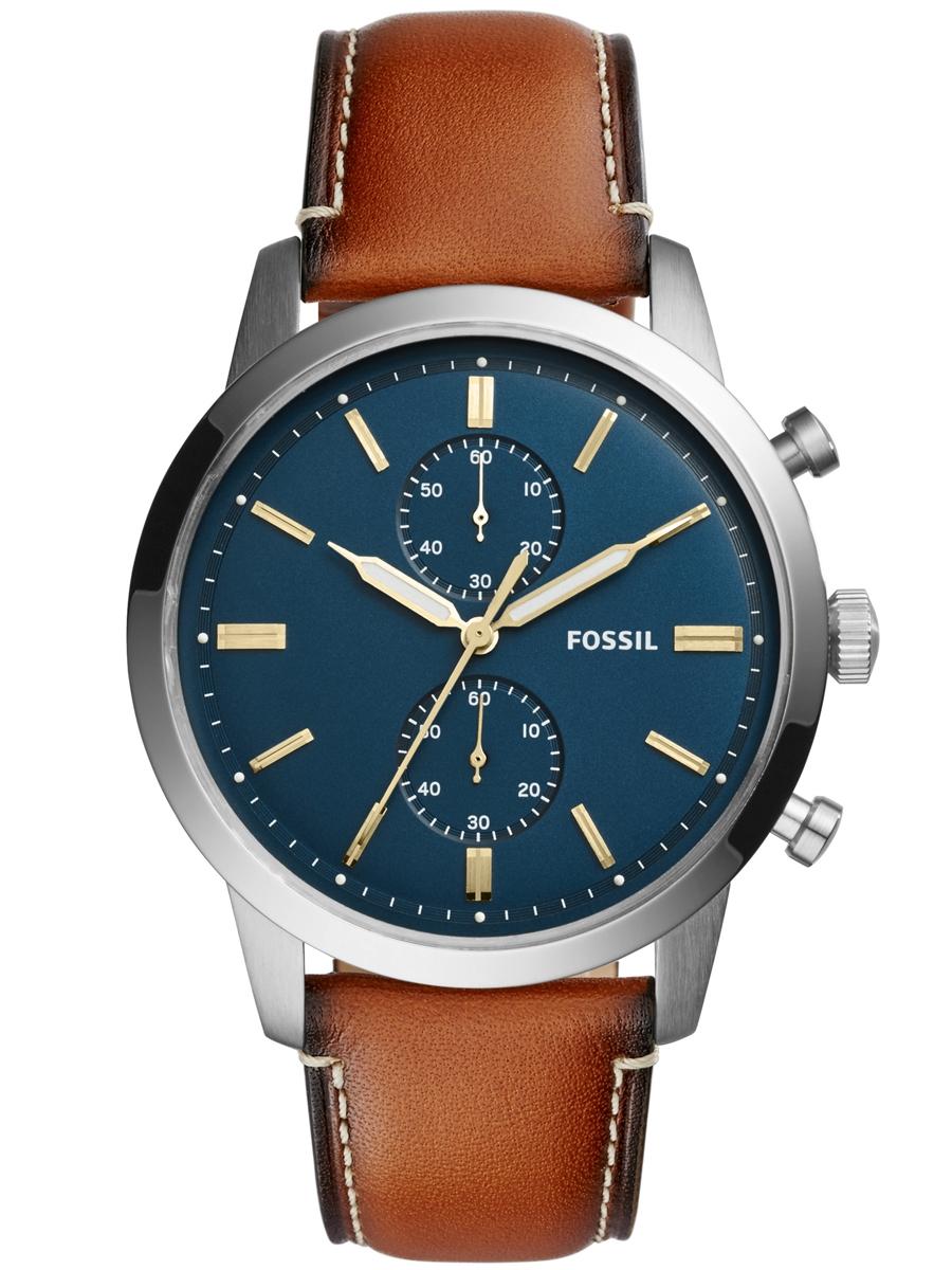 FS5279 Fossil męskie zegarki na pasku skórzanym