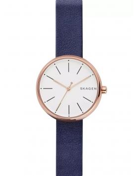 SKW2592 SKAGEN Signature damski zegarek na pasku skórzanym