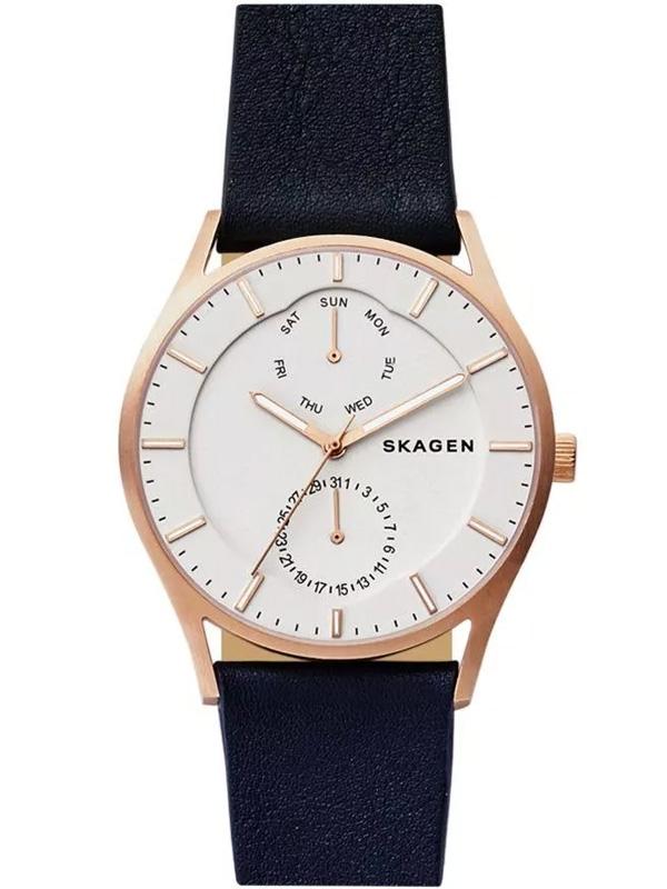SKW6372 SKAGEN Holst męski zegarek na pasku skórzanym