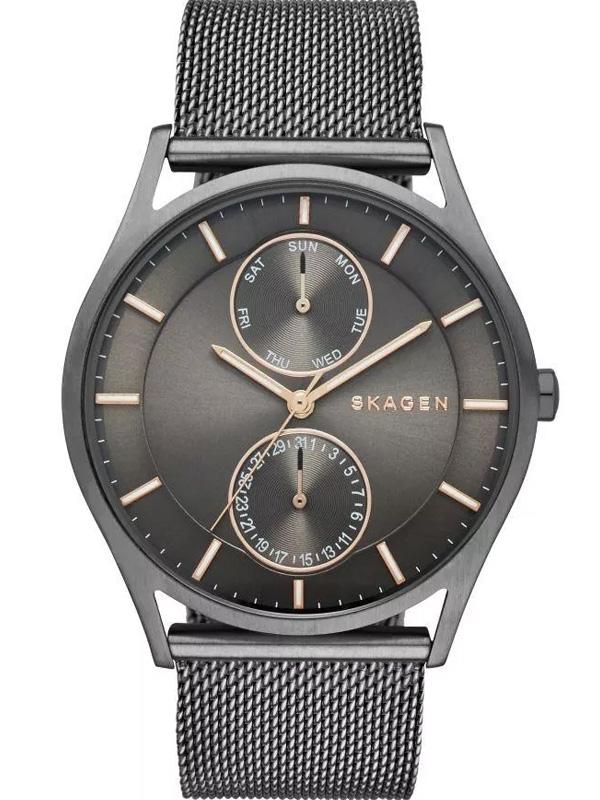 SKW6180 SKAGEN Holst męski zegarek na bransolecie meshowej