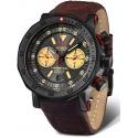 6S21-620C629 VOSTOK EUROPE Lunokhod 2 męski zegarek na pasku skórzanym