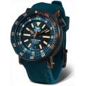 VOSTOK EUROPE Lunokhod 2 NH35A-620C633 wodoszczelny zegarek na pasku silikonowym