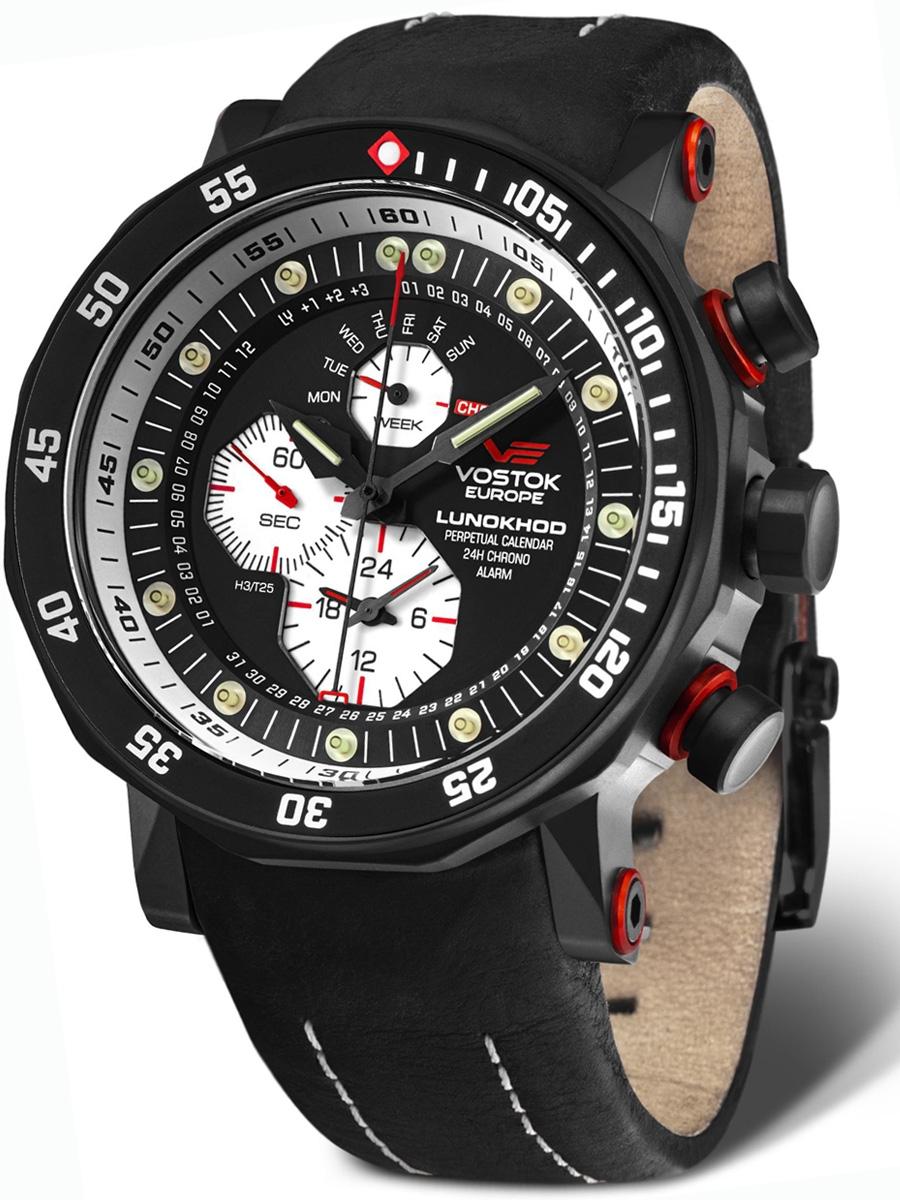 VOSTOK EUROPE Lunokhod 2 YM86-620C635 męskie zegarki Vostok Europe