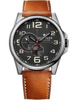 1791004 TOMMY HILFIGER męski zegarek na pasku skórzanym