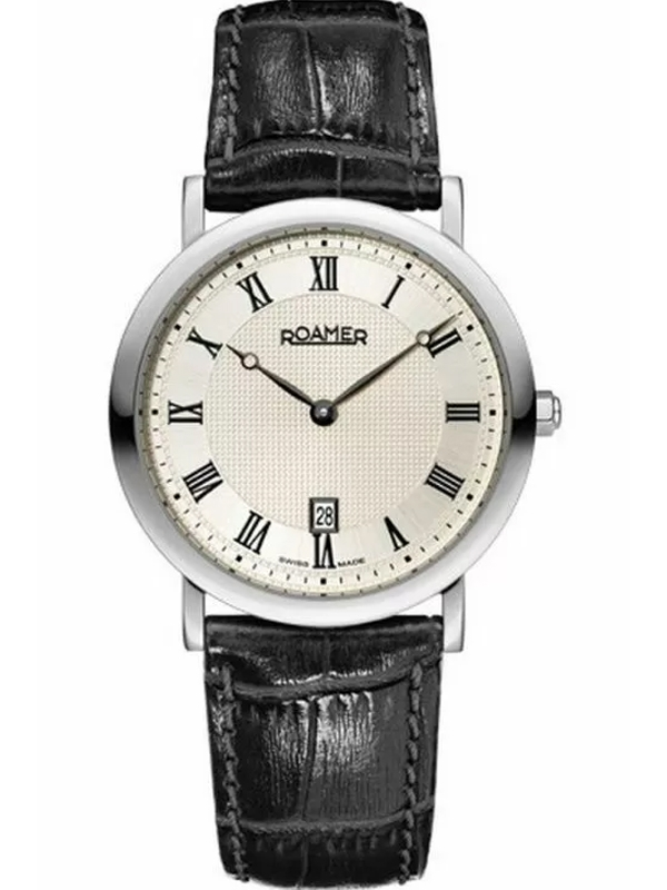ROAMER Limelight Roman 934856-41-11-09 męski zegarek do garnituru