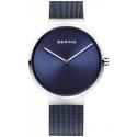14539-307 BERING Classic damski zegarek na bransolecie meshowej
