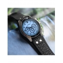 CH2564 FOSSIL męski zegarek z niebieską tarczą