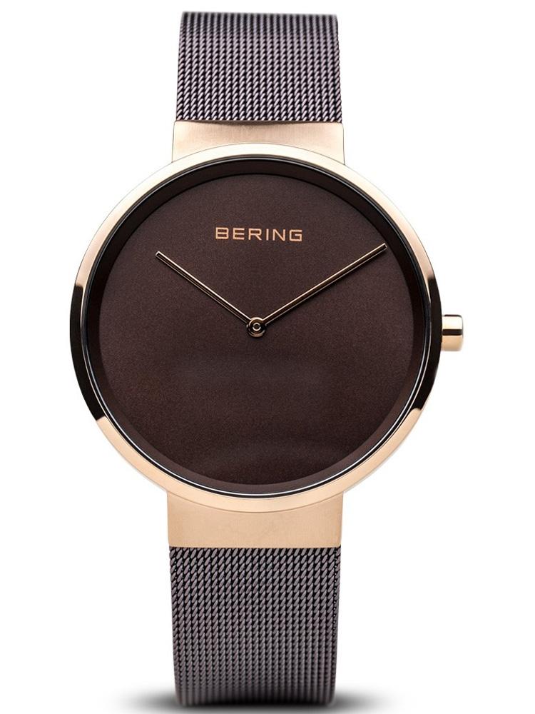 14539-262 BERING Classic damski zegarek na bransolecie meshowej