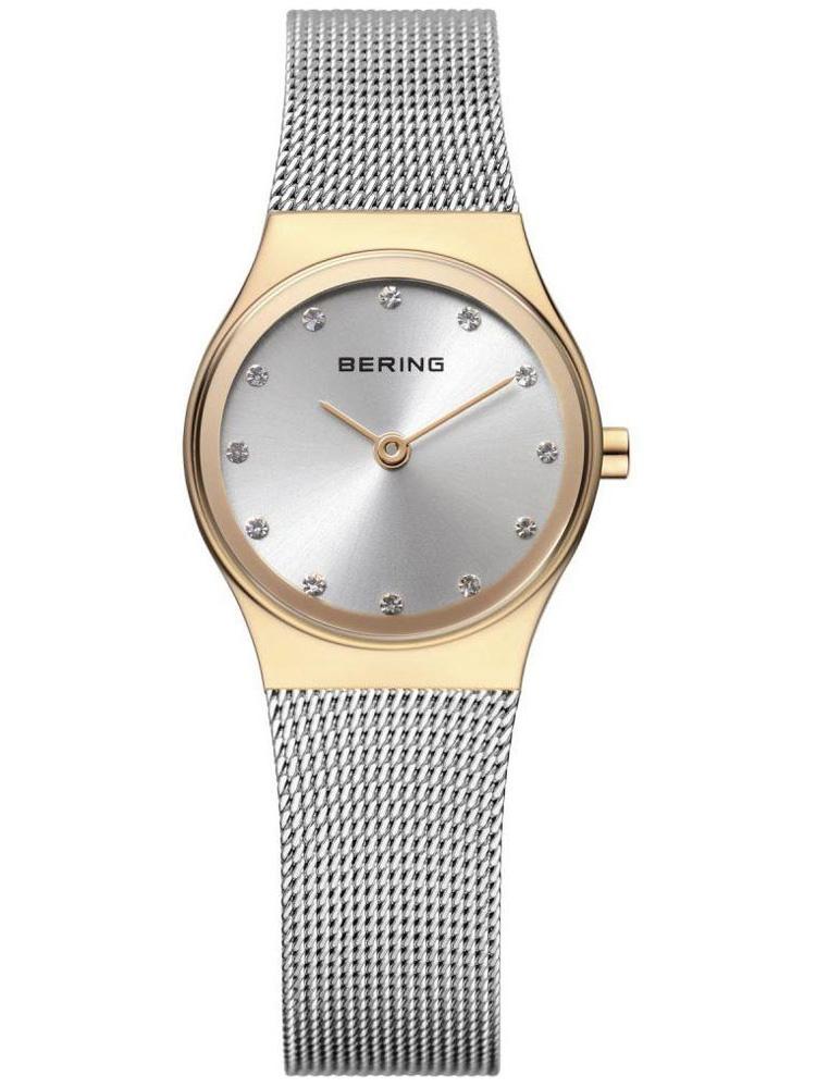 12924-001 BERING Classic damski zegarek na bransolecie meshowej