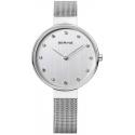 12034-000 BERING Classic damski zegarek na bransolecie meshowej