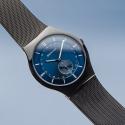 11940-227 BERING Classic czarny męski zegarek