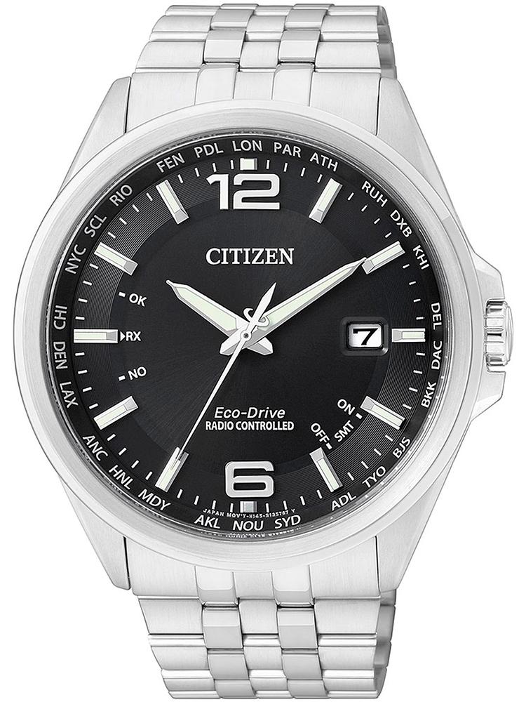 CB0010-88E CITIZEN Radio Controlled męski zegarek na bransolecie