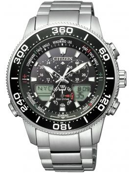 JR4060-88E CITIZEN Promaster Marine Eco-Drive Yacht męski zegarek na bransolecie