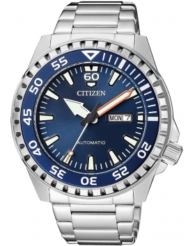 NH8389-88LE CITIZEN Mechanical męski zegarek na bransolecie