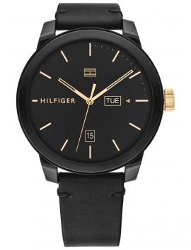 1791747 TOMMY HILFIGER męski zegarek na pasku skórzanym