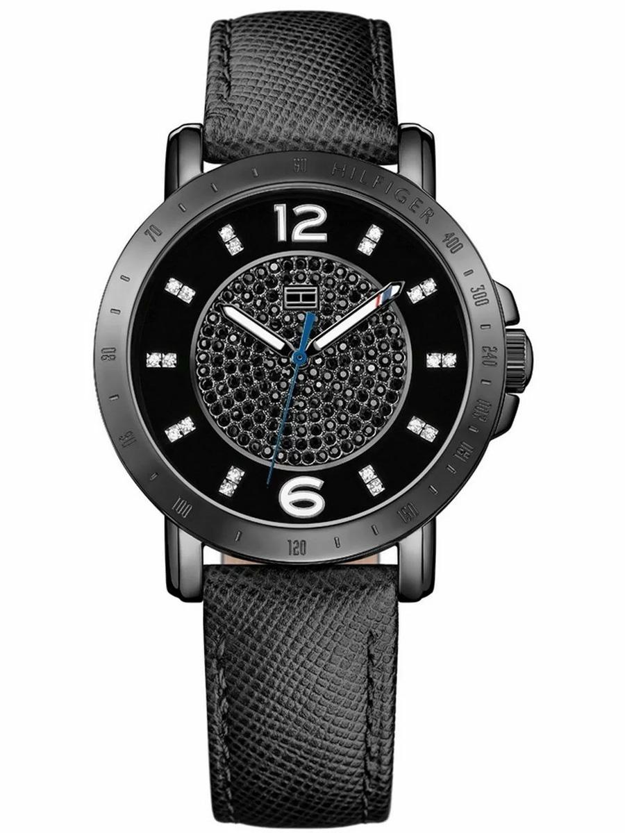 1781624 TOMMY HILFIGER czarny zegarek damski