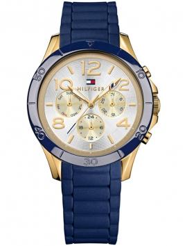 1781523 TOMMY HILFIGER damski zegarek na pasku skórzanym