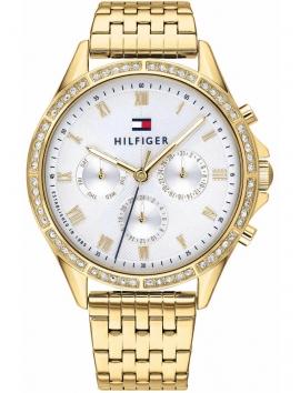 1782142 TOMMY HILFIGER złoty zegarek damski na bransolecie