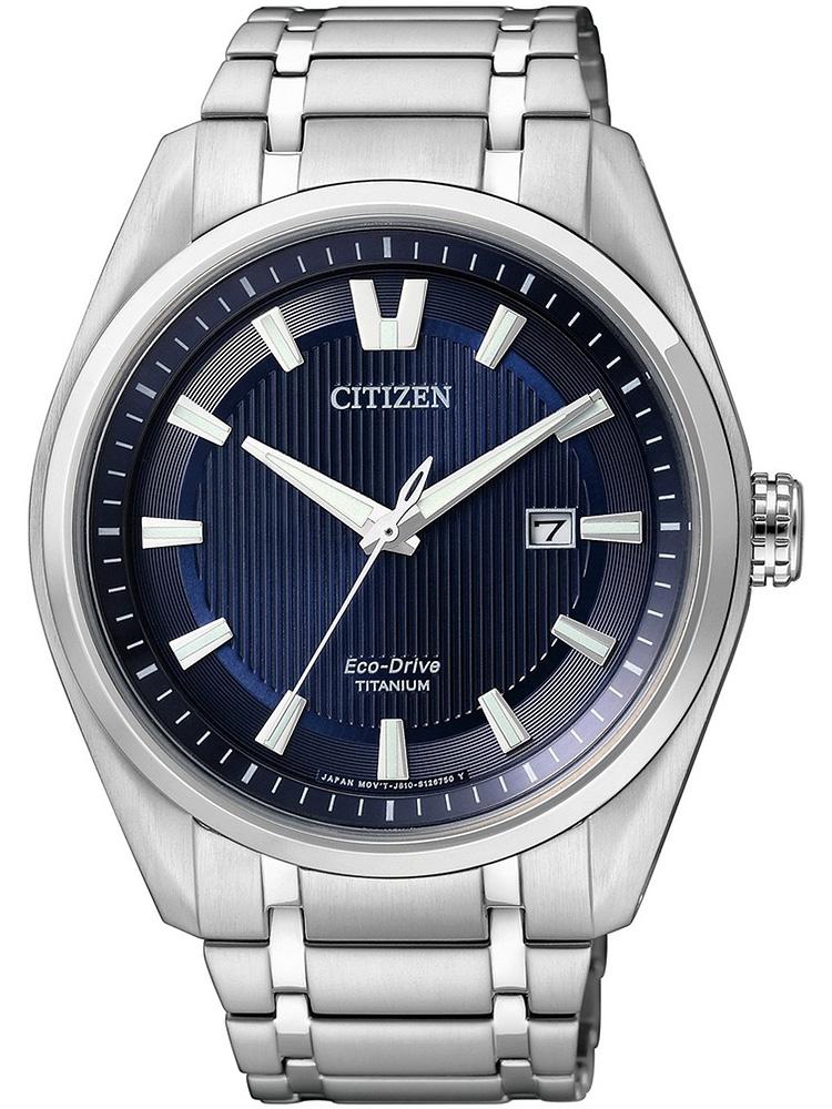 AW1240-57L CITIZEN Eco-Drive męski zegarek na bransolecie