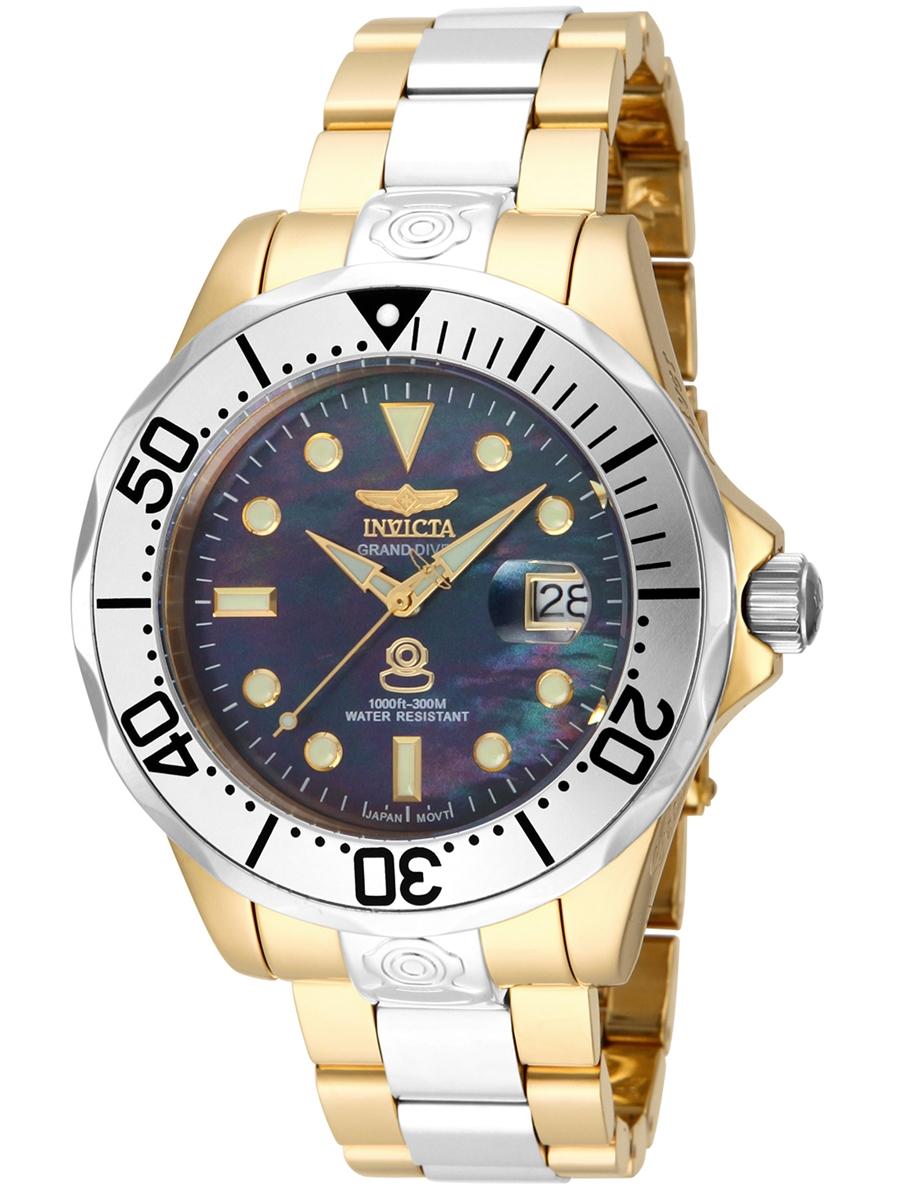 IN16034 INVICTA Grand Diver Automatic męski zegarek na bransolecie