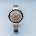 BERING Classic 12034-064 damski zegarek różowe złoto
